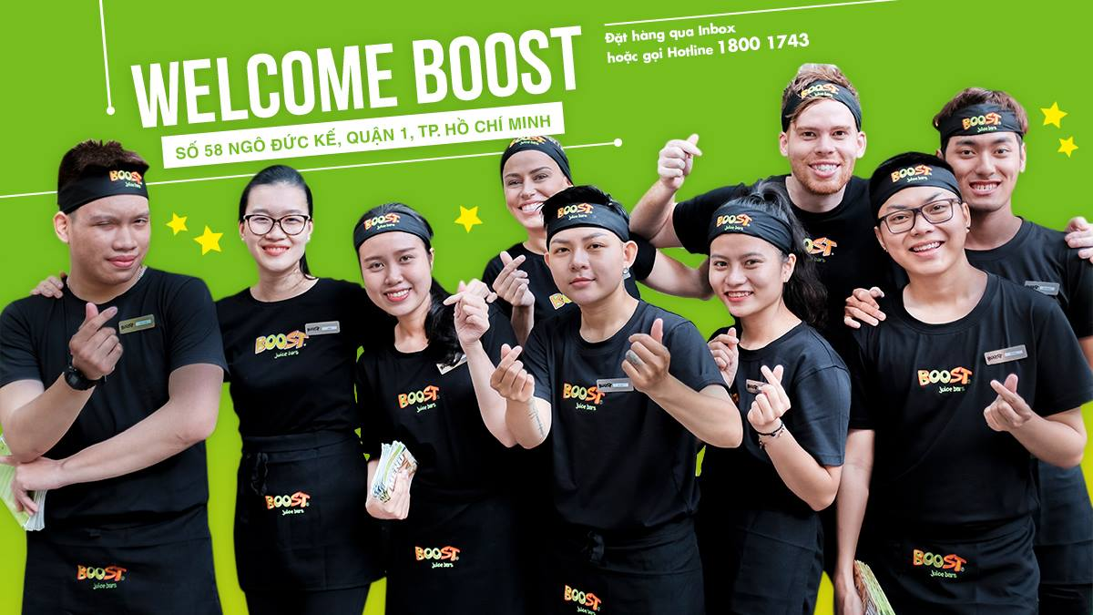 Boost Juice Vietnam